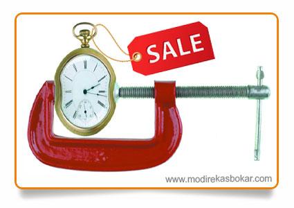 قانون زمانبندی در فروش